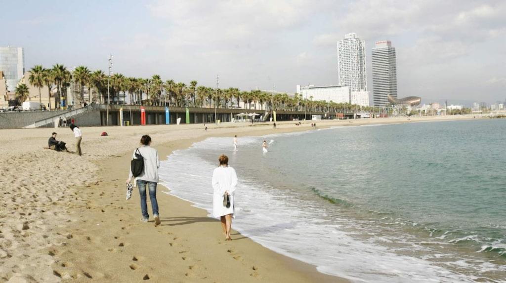 <p>Barcelonas stränder föddes först på 90-talet – tack vare OS.</p>
