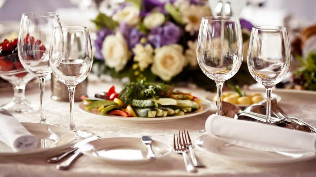 De flesta vill ha en middag i present på alla hjärtans dag.