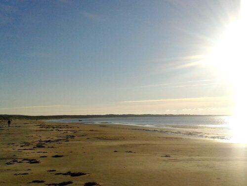 En av Sveriges bästa. Haverdalsstranden är lugn och har perfekt, mjuk sandbotten.