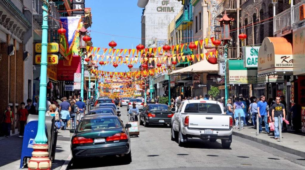Största Chinatown utanför Asien ligger i San Francisco.