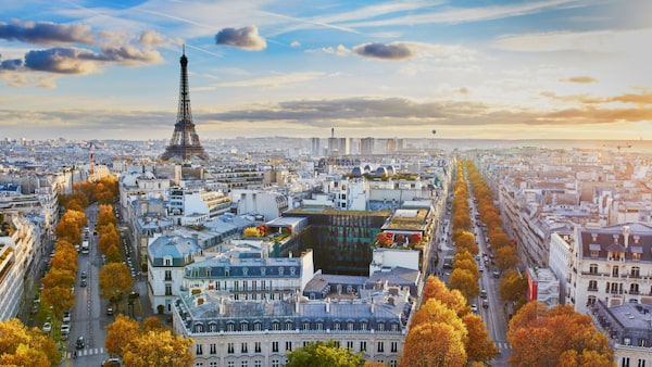 Möt hösten med en romantisk weekend i Paris.