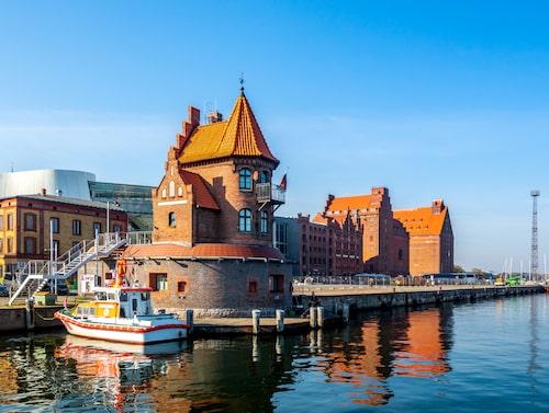 Marinan i Stralsund.