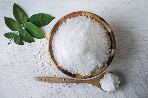 Byt ut saltet till en renare sort.