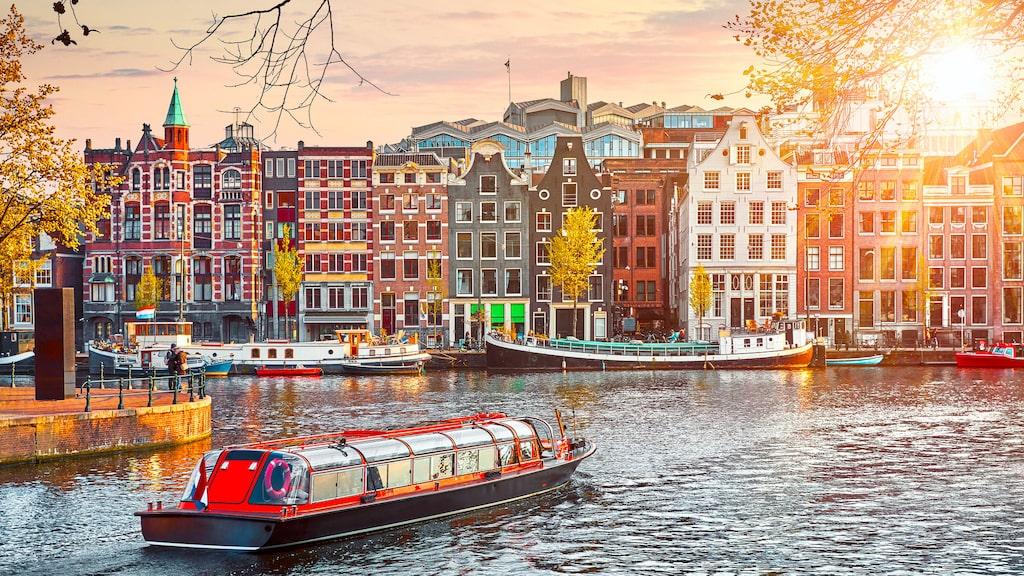 Amsterdam, en av världens bästa weekendstäder.