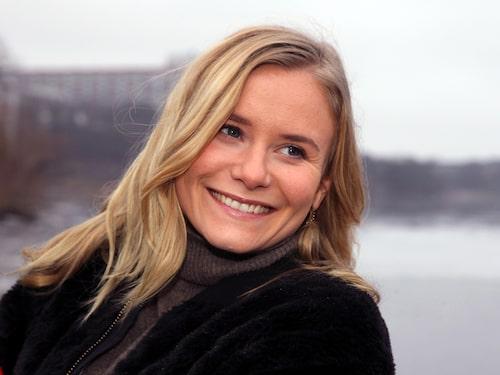 """Ebba spelar karaktären Josefine i Viaplay-serien """"Den inre cirkeln""""."""