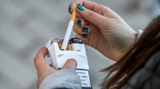 Åldersgräns rökning