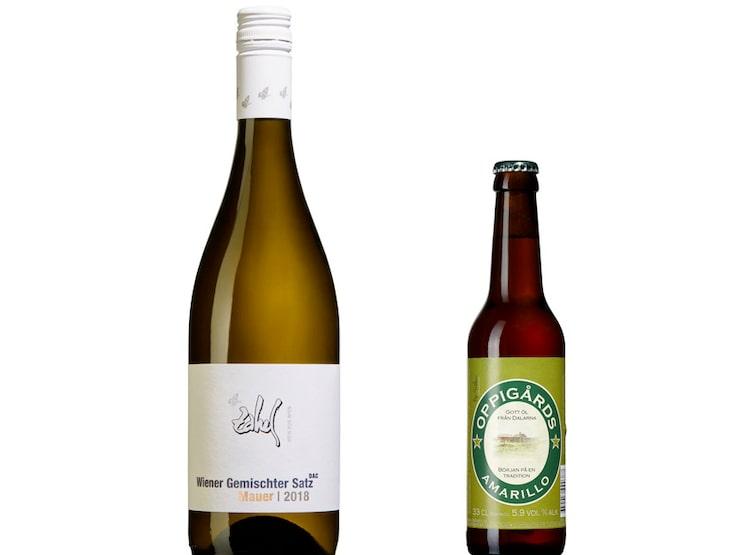 Gunilla Hultgren Karell dricker gärna vitt vin på sommaren, men även en god öl ibland.
