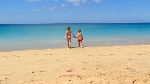 Fuerteventura har totalt 15 mil sandstrand.