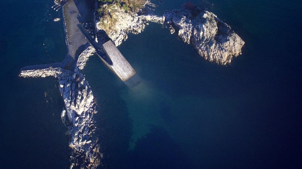 I Norge byggs världens största undervattensrestaurang.