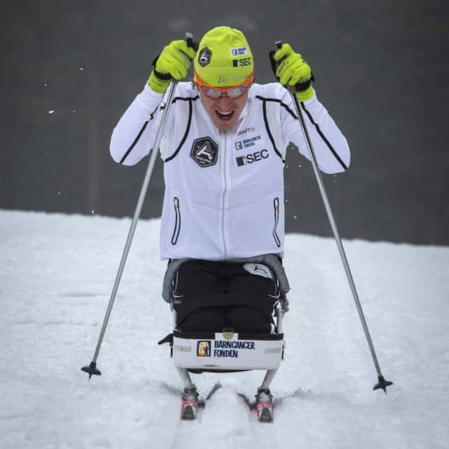 Aron Anderson kör klassikern utan ben Nyheter Expressen