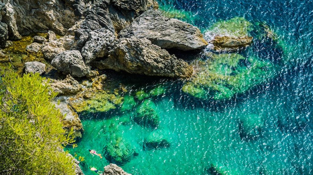 Sköna, gröna Korfu.
