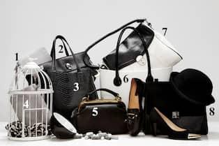 Svartvitt åtta väskor för diskret elegans | Nöje | Expressen