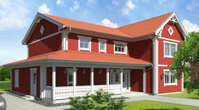 Åkeholm<br>TYP: 2-planshus på 236 kvadratmeter med 7-8 rum och kök.<br>PRIS: 3 710 000 kronor. 15 720 kronor kvadratmetern.<br>HUSFÖRETAG: Götenehus, gotenehus.se