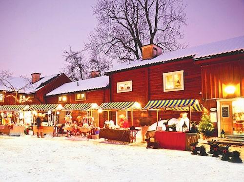 Julstämning i Wadköping.