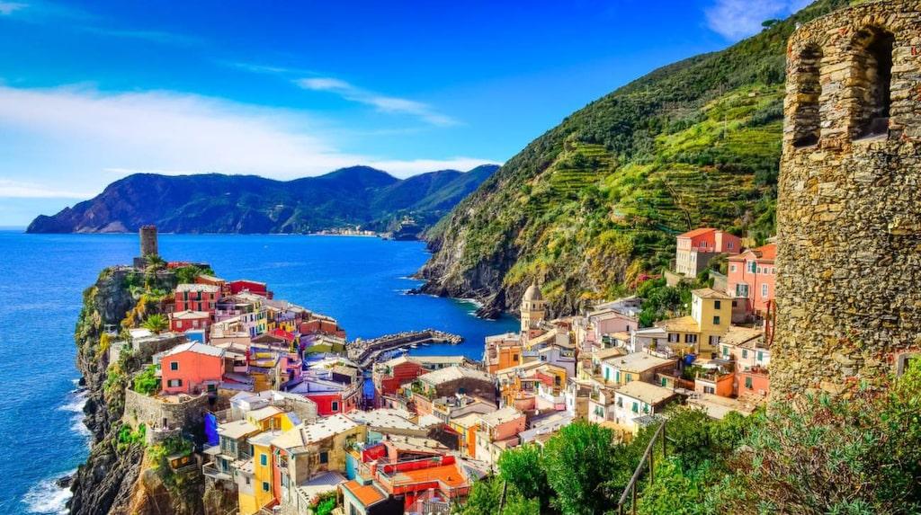 <p>Cinque Terre i Italien undviker moderniteter så långt det går.</p>