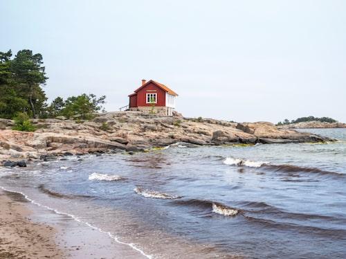 I Grisslehamn ligger författaren Albert Engströms gamla bostad där hans hem återskapats.