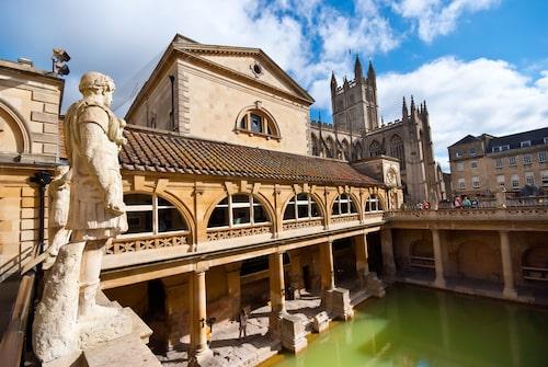 Romerskt bad i Bath.