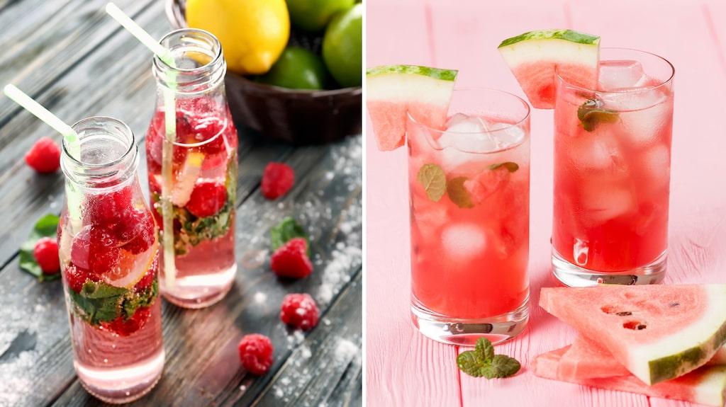 Grunden är Cointreau, lime och sodavatten. Men sedan är det enkelt att addera och variera.