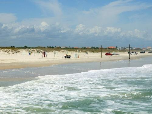 New Smyrna Beach i USA.