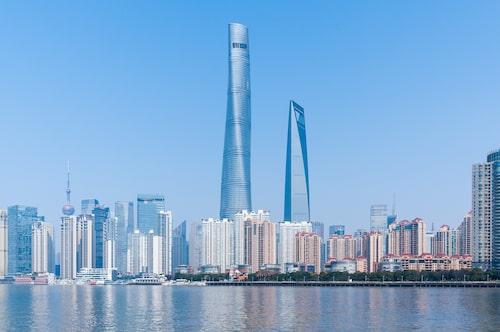 Ingen annan byggnad i Shanghai en en chans mot Shanghai Tower.