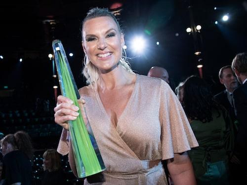 2019 vann Sanna Nielsen kristallen som årets bästa kvinnliga programledare.