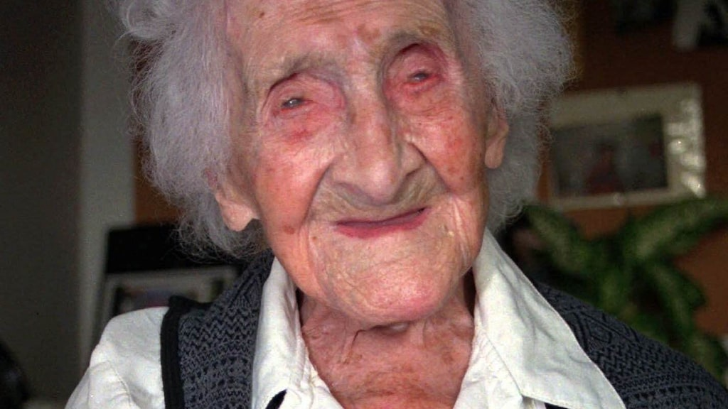 Jeanne Calment, som gick bort 1997, är äldsta person genom tiderna. Hon rökte i princip hela sitt liv.