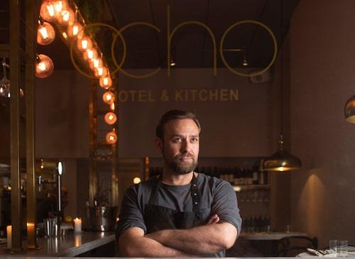 Svenske Lukas Moderato står för menyn på Ocho Hotel & Kitchen.