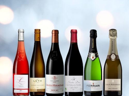 Några av de fina vinnarvinerna som hyllade av Allt om Vin i december. Kom och provsmaka den 4 april på The Winery Hotel.