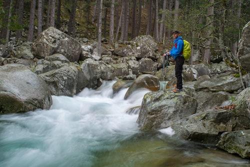 Vandring genom Restonicadalen är en upplevelse i sig.