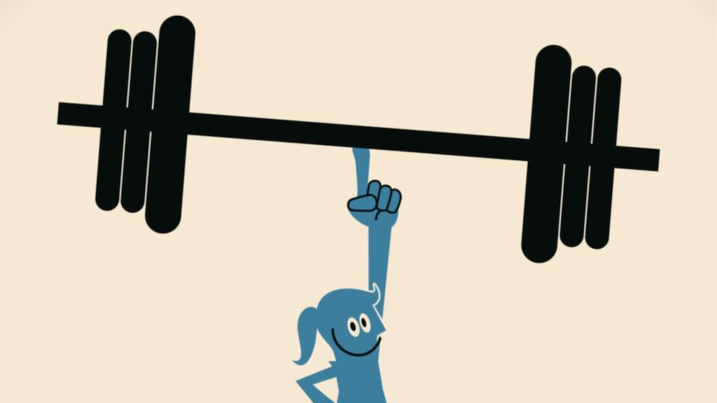 <p>En sak du alltid ska komma ihåg när det gäller styrketräning.</p><p> Jobba efter din förmåga! Lasta inte på för tungt bara för att killen mitt emot gör det.</p>