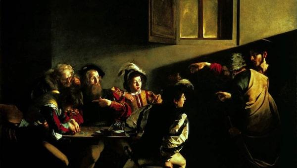 Caravaggio verkade i Rom