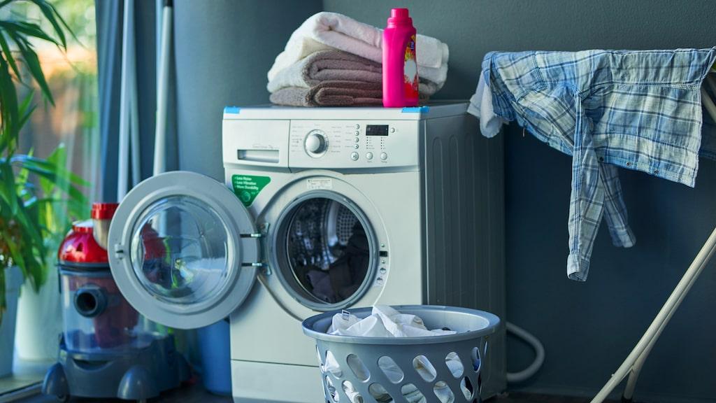 Det är ofta billigare att köpa en kombinerad tvätt- och torkmaskin än två separata maskiner.
