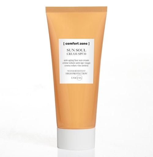 Comfort zone Sun soul extra cream är en behaglig och vårdande solkräm.