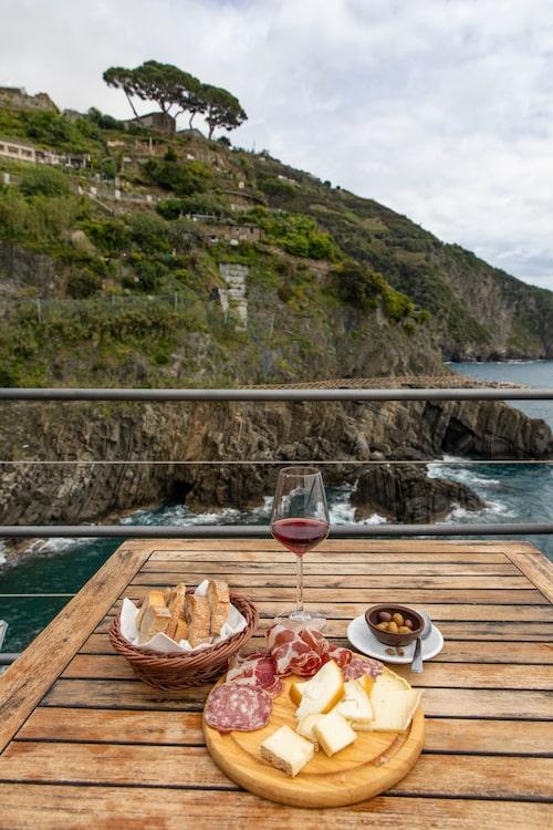 Bar e Vini a Piè de Mà i Riomaggiore i Cinqueterre.