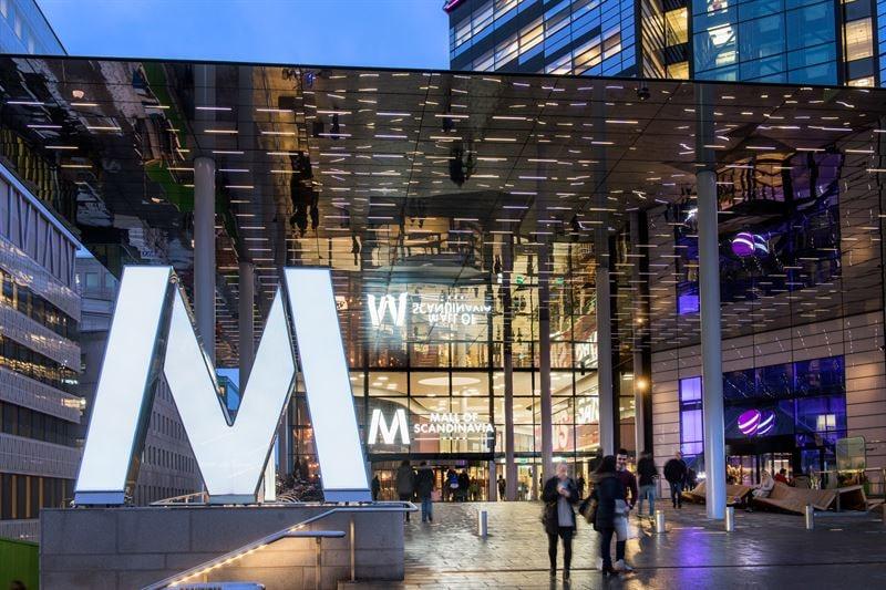 Mall of Scandinavia är Nordens största köpcentrum.