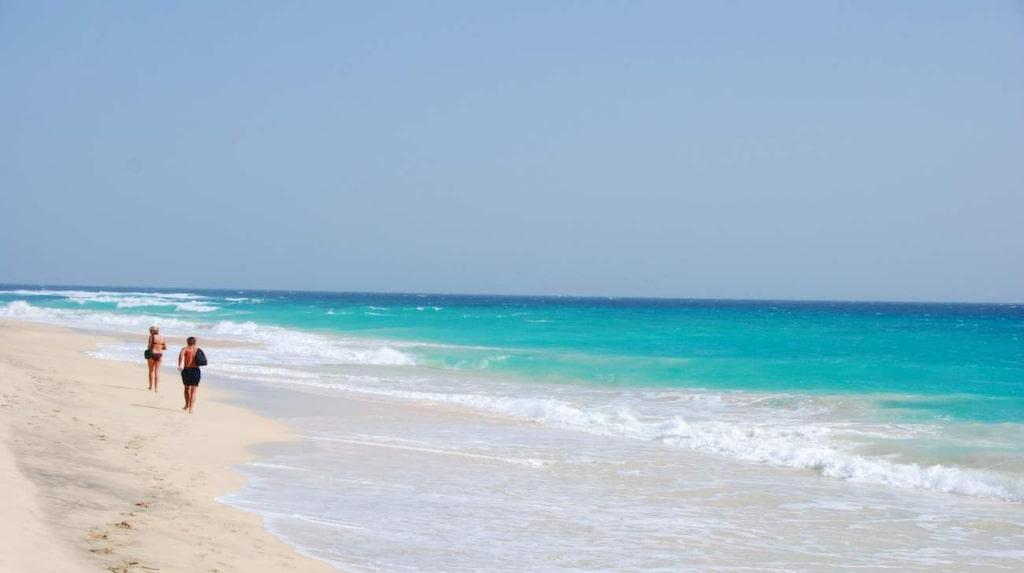 <p>Kap Verde med sina fina vita stränder.</p>