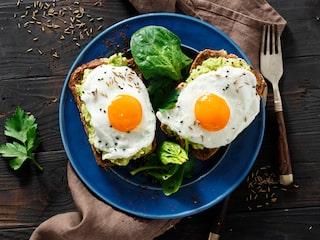 gå ner i vikt med ägg