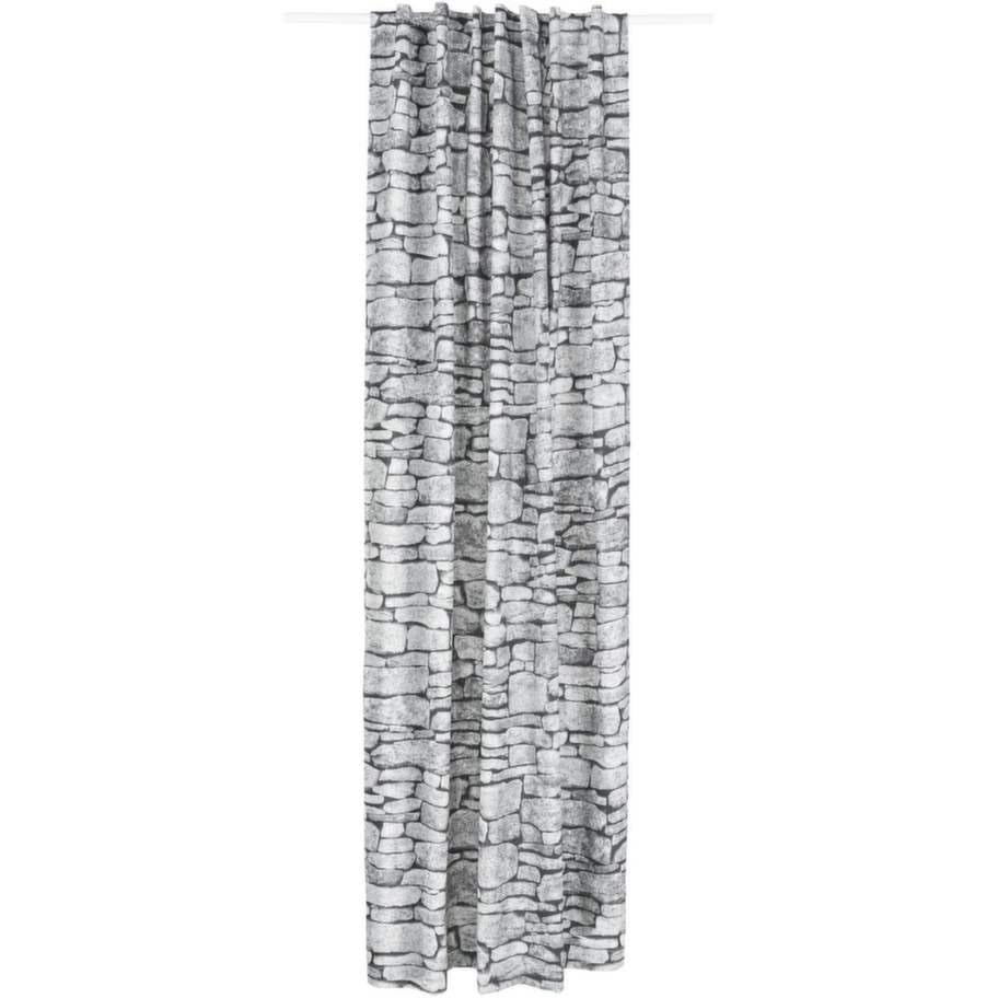 Stenmönster. Gardin Stenmur i bomull, 140 × 240 centimeter, 299 kronor, Åhlens.