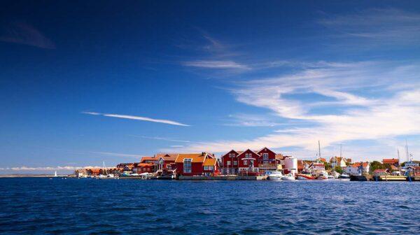 Käringön är en miljö med typisk bohuslänsk bebyggelse.