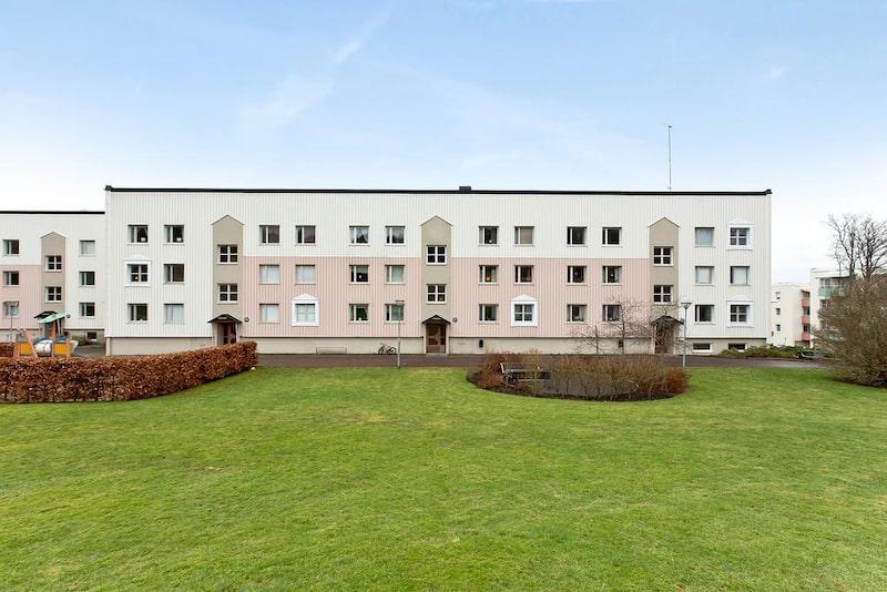 Huset där lägenheten ligger i är från 1967.