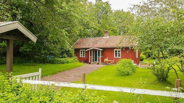1800-talstorp i Götene för 695 000 kronor.