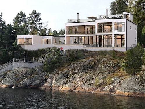 Villa på Värmdö för 30 miljoner kronor.