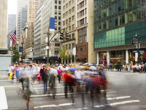 Undvik shoppinghetsen på Fifth Avenue.