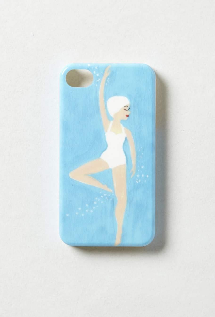 Dansant. Snyggt mobilskal, Synchronicity, till Iphone 4, 245 kronor, Anthropologie.