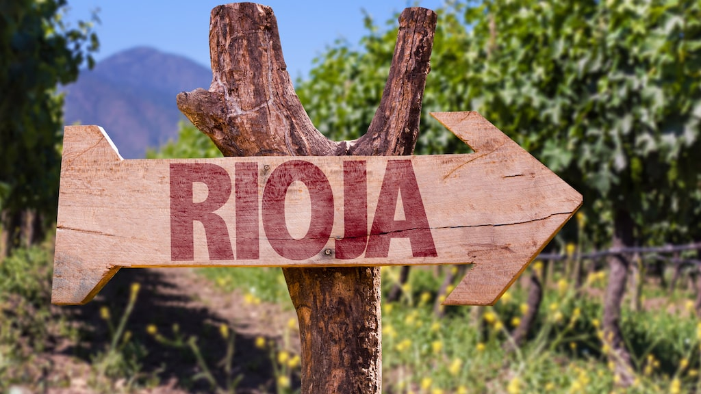 Vinerna från spanska Rioja är populära i Sverige.