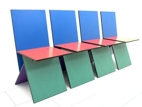 """FLOPP. Danska formgivaren Verner Pantons stol """"Vilbert"""" togs snabbt ur sortimentet efter lanseringen. Desto bättre gick det på senare år. En stolgrupp om fem stolar klubbas i dagsläget för 25 300 kronor."""