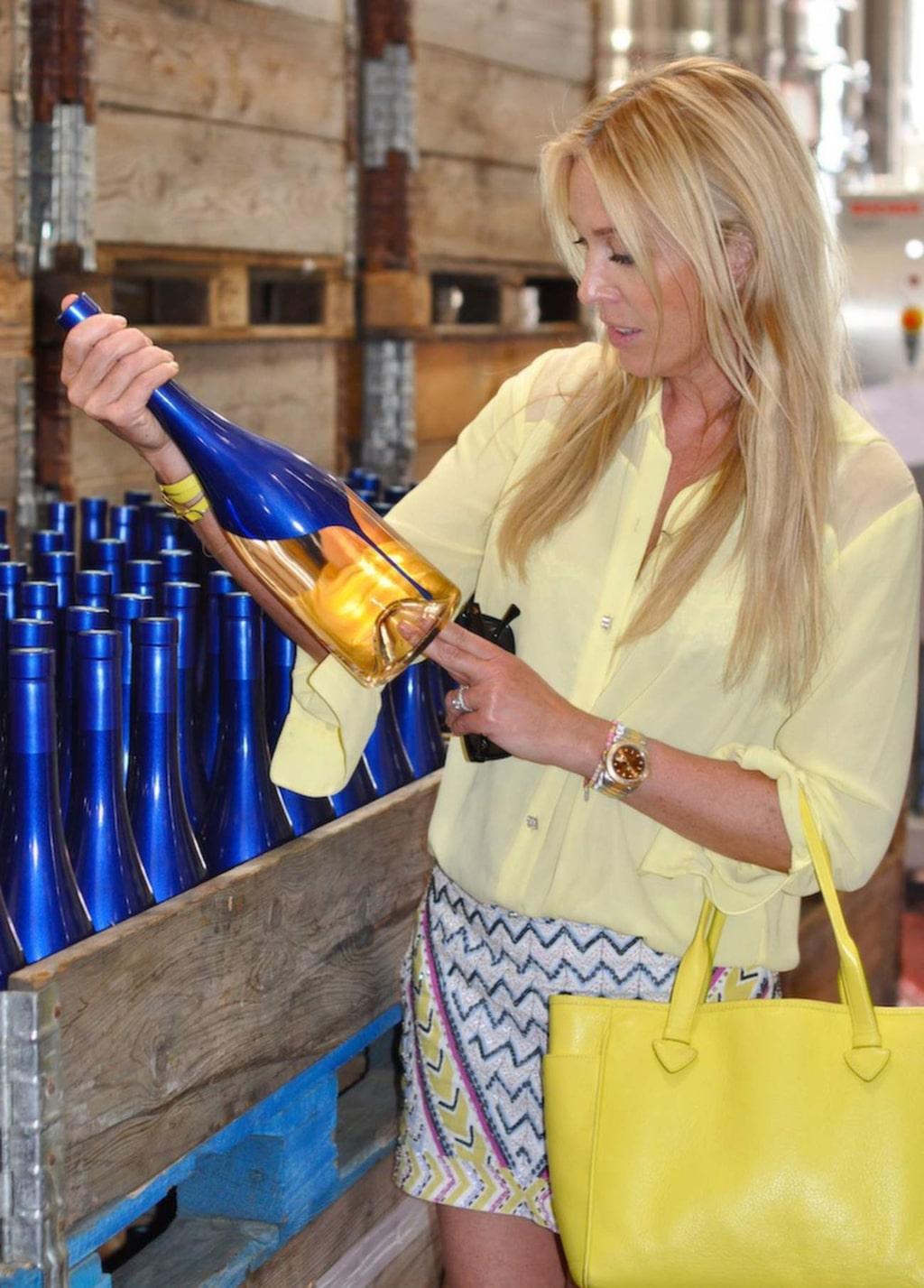 Här görs rosévinerna på blå druvor.