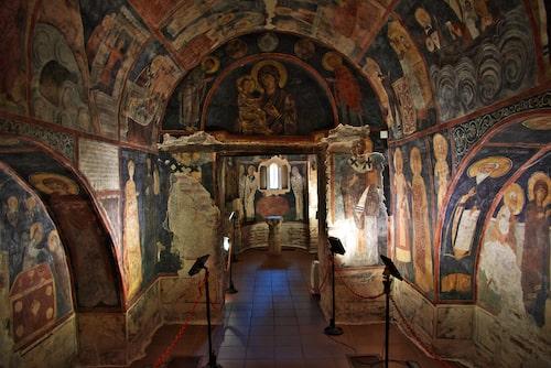 Bojanakyrkan, ett av Bulgariens världsarv.