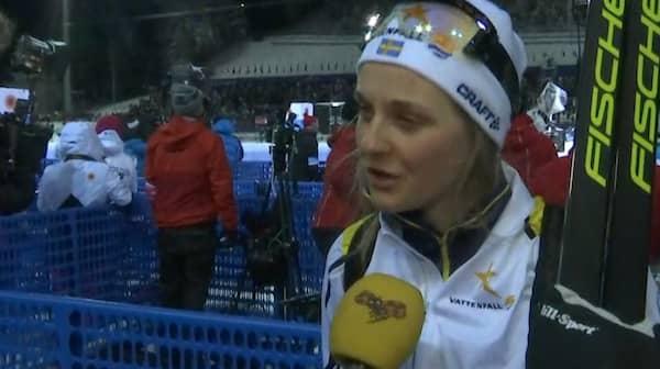 Stina nilsson missar kvartsfinalen efter vurpa