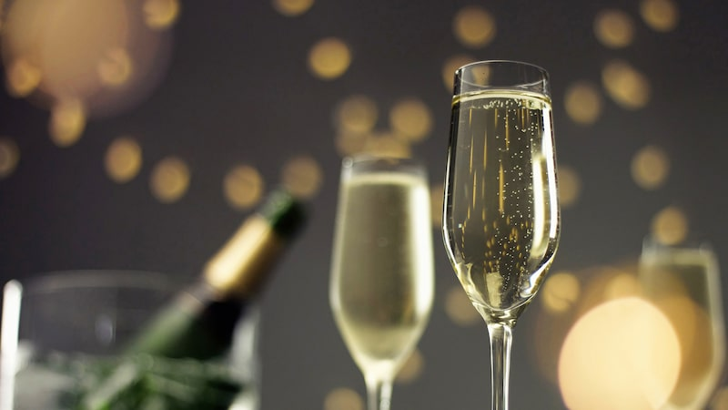 Sverige är med på Champagnes lista över de största exportländerna.